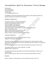 ndt technician resume example cover letter sample qa test technician resume sample qa test cover letter qa resume sample entry level qa tester samplesample qa test technician resume extra medium