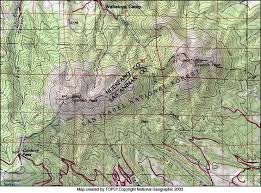 topography map of peaks colorado search