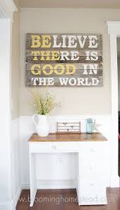 wall decor made of wood ingenious wall made with wooden pallets