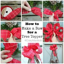 25 unique bows for tree ideas on bows on