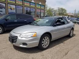 2004 Chrysler Sebring Convertible Interior Chrysler Sebring Convertible 2 Door In Michigan For Sale Used