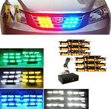 snow plow strobe lights 6x9 yellow amber flash light led snow plow car boat truck warning