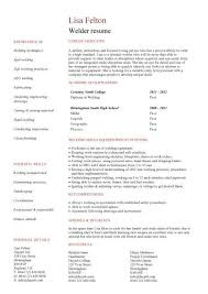 Resume With References Examples by Welder Resume Example Will Give Ideas And Provide As References