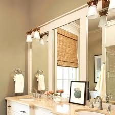 How To Make A Bathroom Mirror Frame Awesome Bathroom Mirror Frame Ideas Surprising Bathroom Mirror