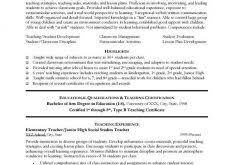 Sample Resume Of A Teacher by Download Educator Resume Haadyaooverbayresort Com