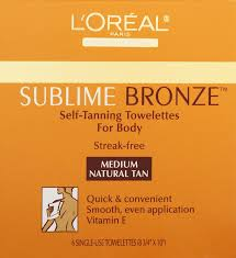 Which Tanning Beds Are The Best Amazon Com L U0027oreal Paris Sublime Bronze Self Tanning Towelettes