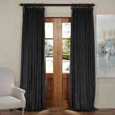 Double Wide Grommet Curtain Panels Curtains U0026 Drapes Window Treatments The Home Depot