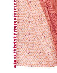 la fiancee du mekong achat en ligne foulard en coton angelita imprimé a pois orange la fiancée du mékong
