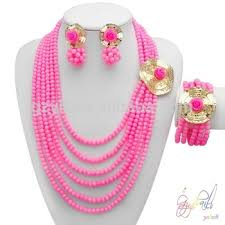 indian beads necklace images Indian beads jewellery designs wholesale costume jewelry set jpg
