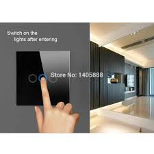 switch uk standard white black color smart house lamp wall power