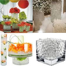 Pink Vase Fillers 1kg Bag Pearl Dark Pink Vase Filler Shaped Crystal Soil Water
