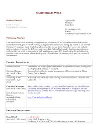 curriculum vitae pizza chef commi chef resume sample resume for study