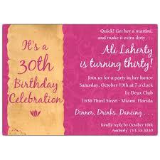30th birthday invitation wording badbrya com