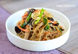simple one pan korean glass noodles japchae recipe kimchimari
