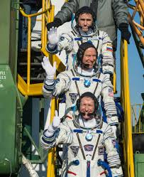 american russian and briton join international space station crew