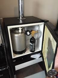 Building A Kegerator Small Kegerator Build For The Home Office Diy