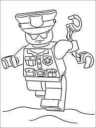 mailman hat coloring page police officer coloring pages www glocopro com
