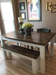 farmhouse kitchen furniture farmhouse kitchen table with bench kitchen design
