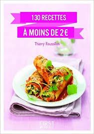 recettes cuisine 2 amazon fr petit livre de 130 recettes à moins de 2 euros