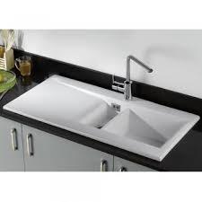 Phoenix Sapphira  Ceramic White Kitchen Sink - Ceramic white kitchen sink