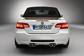 Bmw M3 Back - 2011 white bmw m3 targa pickup rear view eurocar news