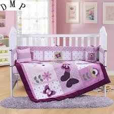 nursery beddings purple baby bedding sets plus purple butterfly