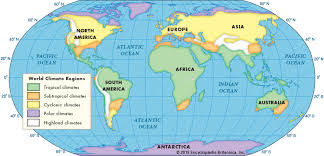 what is a climate map encyclopedia children s homework help