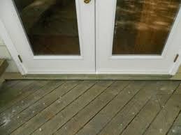 Patio Door Sill Improper Patio Door Install Doityourself Community Forums