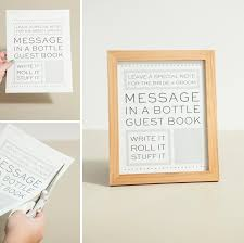 wedding quotes guestbook check out this diy message in a bottle guest book