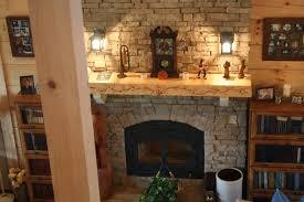 garden rustic masonry fire rock fireplace ideas design heater for