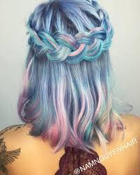 28 rainbow colors ideas boxer braids braid and pastels