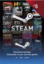 gift cards for steam gift card 5 gbp uk