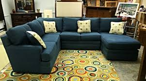 Thomasville Sectional Sofas by Thomasville Blue Denin Sectional Sofa U2014 Furnish This Fine Home