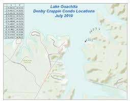 Ouachita Mountains Map Lake Ouachita