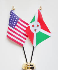 Flag Of The United States Of America United States Of America U0026 Burundi Friendship Table Flag