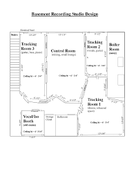 Recording Studio Floor Plan by Wiring A Professional Recording Studio Wiring Printable U0026 Free