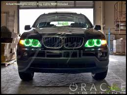 green bmw x5 00 06 bmw x5 plasma halo rings headlights bulbs