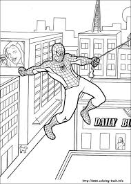 spiderman color free coloring pages art coloring pages