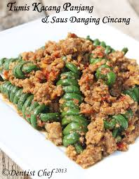 cara membuat mie goreng ala resto stir fried long bean rolled with minced chicken and beef meat ala