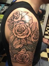 141 best rose tattoo images on pinterest black feminine tattoos