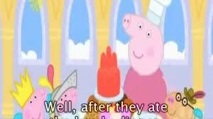 Peppa Pig Cuckoo Clock Peppa Pig Princess Peppa With Subtitles Video Dailymotion