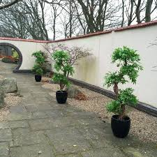 artificial trees for home decor ft artificial plastic tree w 3