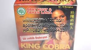 kapsul king cobra jamu kuat seks herbal tradisional indonesia asli