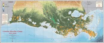 louisiana state map key louisiana loses its boot matter medium