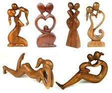 wood carved ornaments ebay
