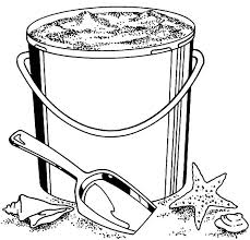 bucket filling coloring pages collecting sand beach bucket coloring pages best place to color