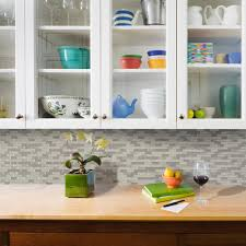 peel and stick backsplash for kitchen smart tiles the home depot