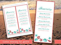 destination wedding itinerary template destination wedding itinerary template