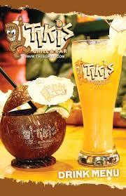 drink menu tiki u0027s grill