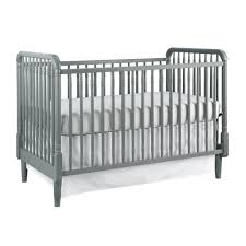 Modern Convertible Crib Zola 3 In 1 Modern Classic Convertible Crib In Twilight Grey